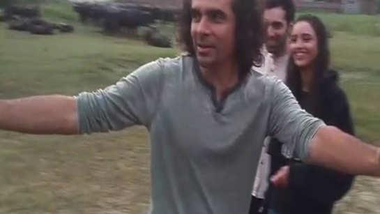 Watch filmmaker Imtiaz Ali do cartwheels in the fields of Punjab