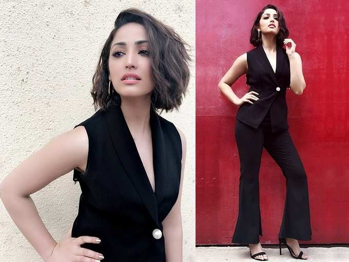 Photo: Yami Gautam looks absolutely ravishing in a black dress
