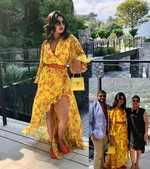 Priyanka Chopra's soaks the Italian sun