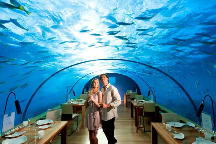 World's first underwater villa, The Muraka in Maldives is open now