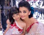 Aishwarya Rai twins with daughter Aaradhya at fashion show