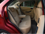 Rear seat space and features