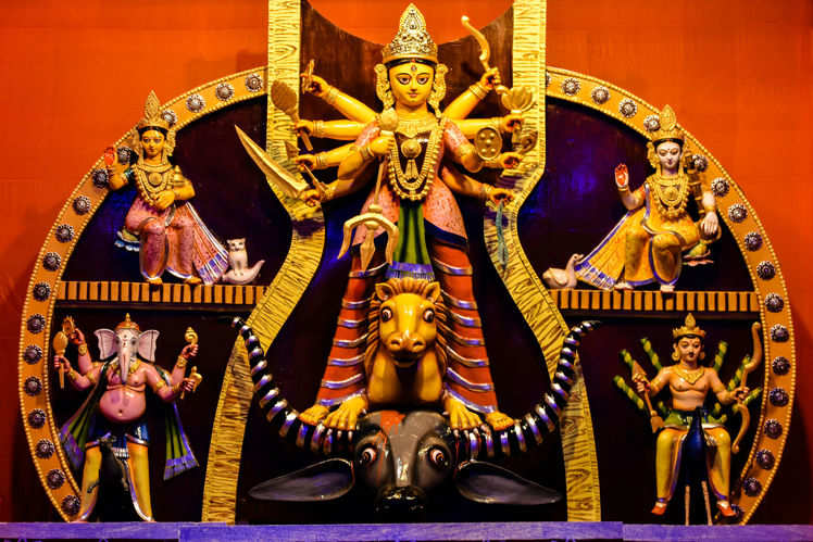 durga puja themes venues in south kolkata