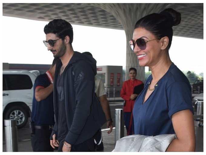 Is Sushmita Sen dating model Rohman Shawl?