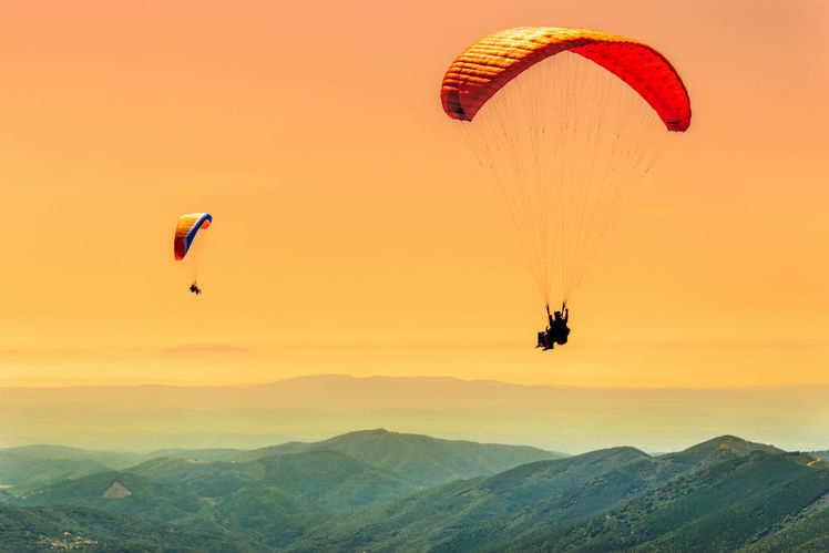 Image result for A complete guide to paragliding in Bir-Billing, Himachal Pradesh