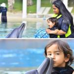 Arpita holidays with her son Ahil in Dubai