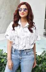 Parineeti Chopra during the promotions of her film