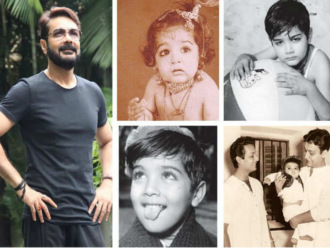 Rare childhood pictures of Prosenjit Chatterjee you shouldn't miss