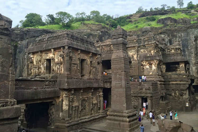 Kailash temple in Ellora | Times of India Travel