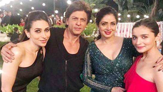 Shah Rukh Khan wants Sridevi's song in 'Zero' to be the surprise element?