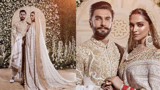 Deepika Padukone, Ranveer Singh's Mumbai reception: DeepVeer look glamorous in traditional attires