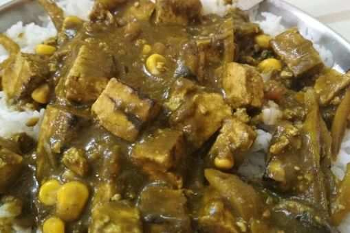 Palak Tofu Gravy