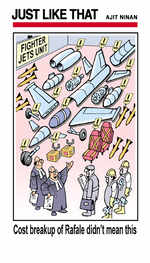 Fighter jets unit
