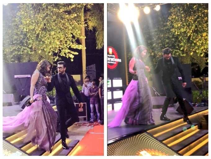 Photo: Fans swoon over Ranveer Singh's chivalrous act towards Hina Khan