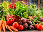 Increase your intake of vegetables