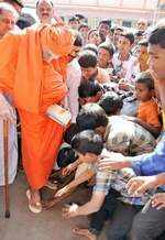 Shivakumara Swami best known for his work in the field of education