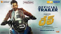 Dev - Official Telugu Trailer
