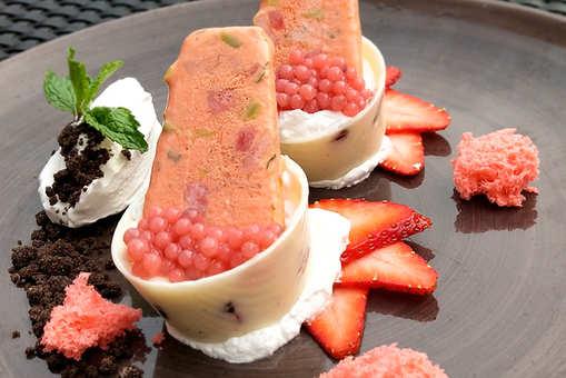 Strawberry Infused Kulfi