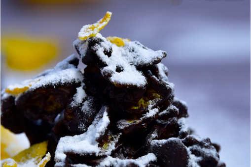 Corn Flakes Honey Almonds Rock Chocolate