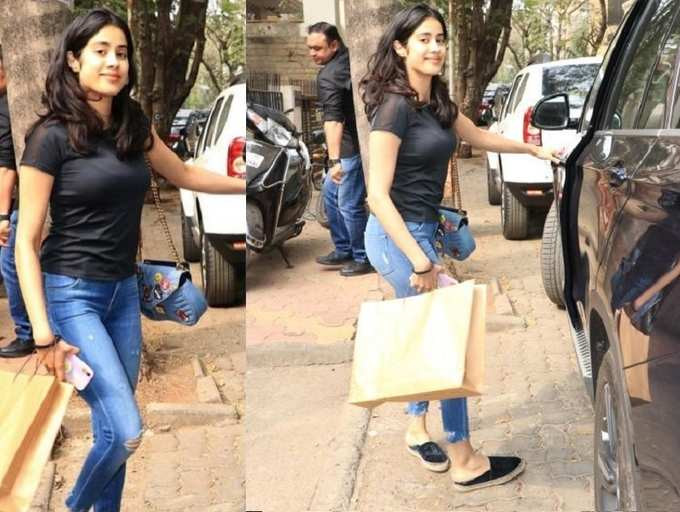 Janhvi Kapoor Gains Weight To Fit Into The Character Of Her Next Film Iaf Pilot Gunjan Saxena S Biopic