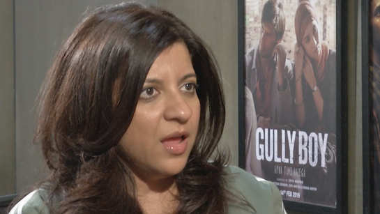 Zoya Akhtar on exploring sexuality in films