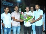 Sri. Rajendra Jasud and his associates inaugurating Kanifnath Mobile Shop in Maujey Village, Shirur Taluka, Pune-1