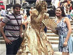 Sayyeshaa Saigal-Arya's wedding celebrations begin; see pics