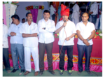 Sri. Sri. Rajendra Jasud at the Navratri Celebration organized at Maujey Village, Shirur Taluka, Pune-1