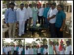 Sri. Rajendra Jasud celebrating his Birthday with the locals of Maujey Village, Shirur Taluka, Pune-1