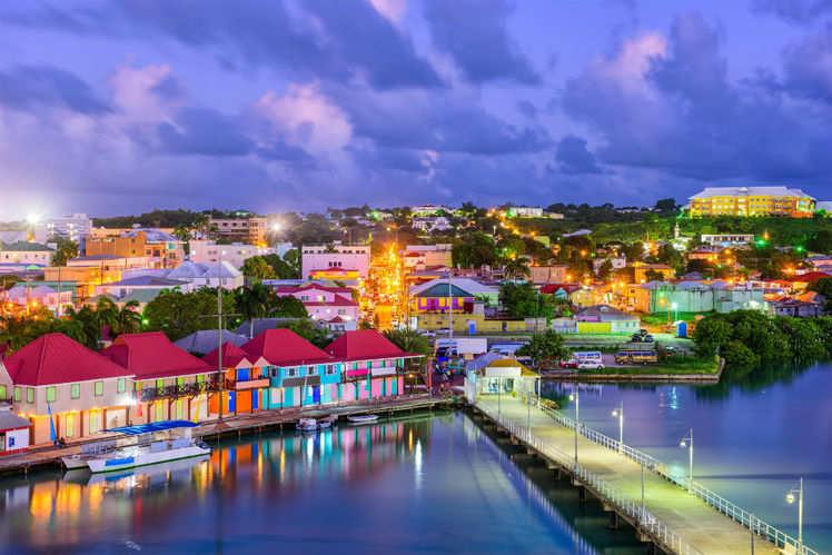 The non-Schengen countries: Caribbean Zone
