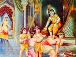 'Krishna' by Sunita Pant Bansal