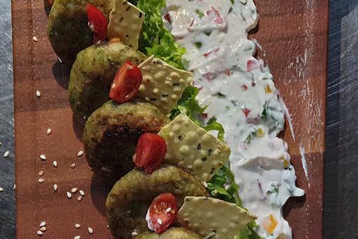 Hadippa Harayali Cheese Kebab