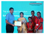 Top in National Curriculum  – South Zone – SAN Academy, Pallikarnai-1