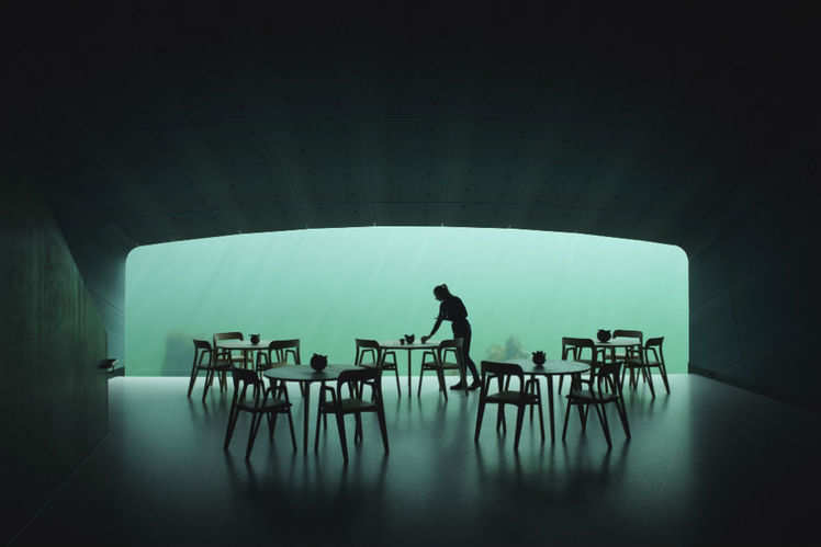Europe's first underwater restaurant is now open