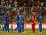 MI win the match by 6 runs