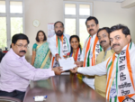Harshvardhan Patil present for Sule's Nomination