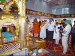 Worships at Gurudwara