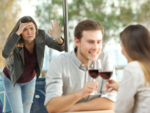 Do not discuss with your partner's friends