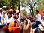 Aditya Thackeray at Shirur