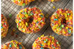 Sagittarius- Glazed fruity doughnut