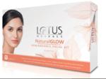 Lotus Herbals Natural Glow Kit Skin Radiance 4 Facial Kit