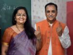 CM votes in Rajkot
