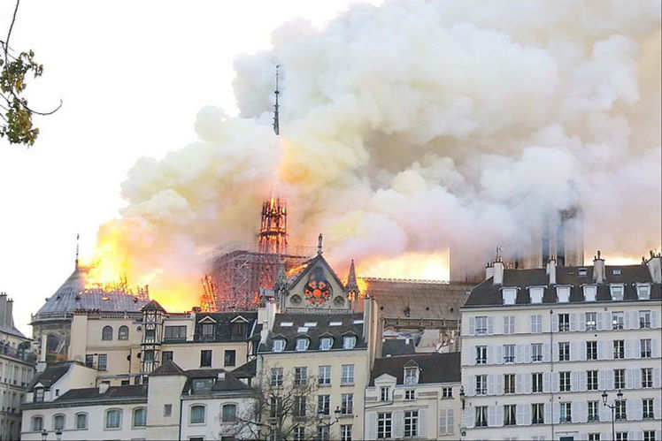 Notre Dame fire: This is what escaped the disaster