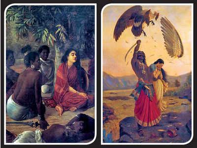 Bengaluru: The botanical study of Raja Ravi Varma paintings has