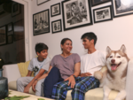 'My kids are very happy to see me home'
