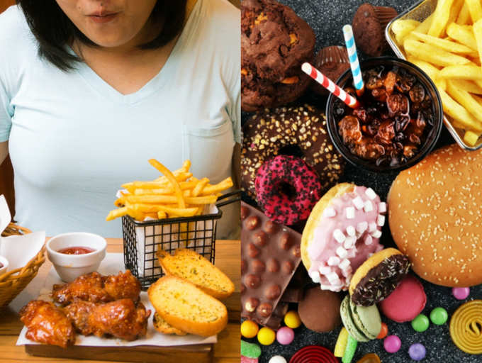can you lose weight while still eating junk food