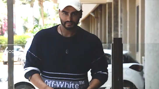 Arjun Kapoor promotes his upcoming film 'India's Most Wanted'