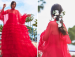 Sonam paints the French Riviera in red!