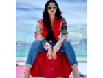 Aishwarya goes casual