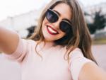 A smiling selfie